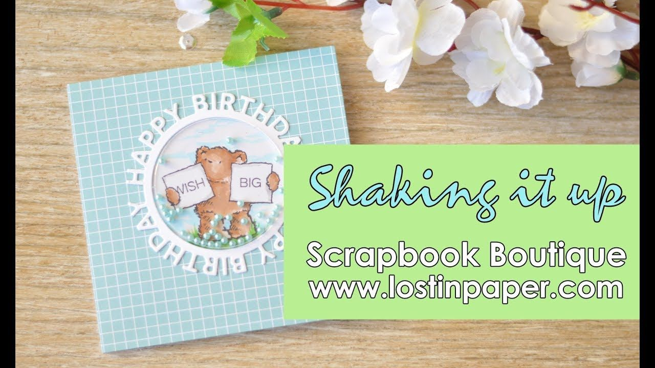 Card Making Ideas Youtube Part - 50: Scrapbook Boutique - Shaking It Up! - YouTube · Shaker CardsPenny BlackCard  Making