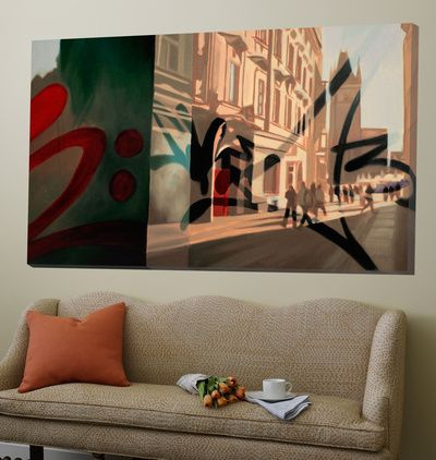 Oversized Canvas Allposters Ie Wall Art