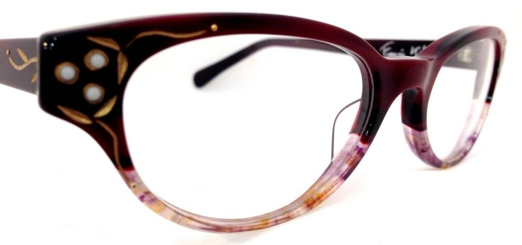18c1d076edd9 Hand-made stunning eyewear from Francis Klein Paris available at Spectacles  on Montrose in Houston