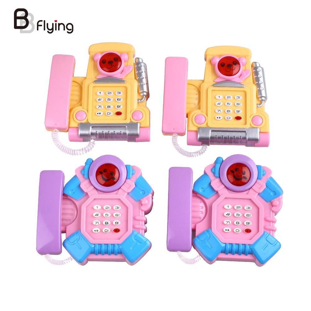 Elektronische Speelgoed Telefoon voor Kinderen Baby Mobiele Telefoon Muzikale Speelgoed Educatief Learing Speelgoed Kids Gift