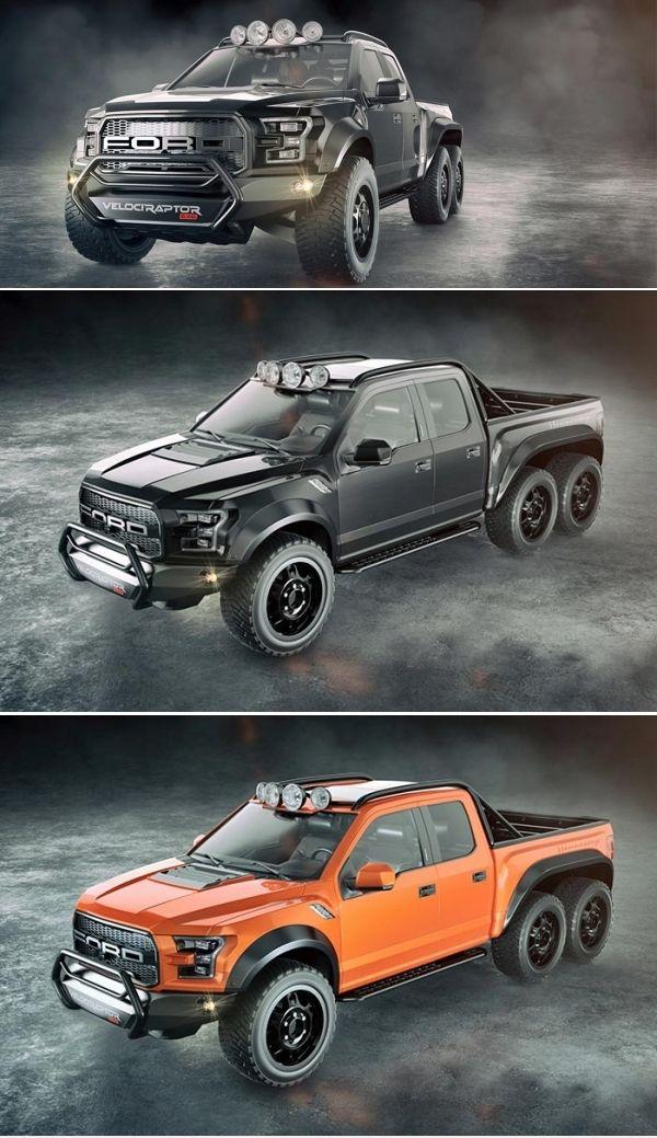 Ford Velociraptor 6x6 For Sale : velociraptor, Hennessey, Velociraptor, Customization, Velociraptor,, Truck,, Pickup, Trucks