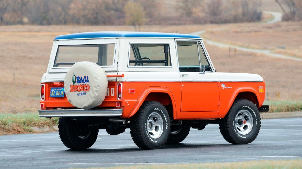 Baja Bookends First And Last Model Year Bill Strop Ford Bronco