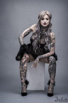 Photo of Ryan Ashley Malarkey: première dame du maître de l'encre | Magazine encré – Partie 5 # tatouage …