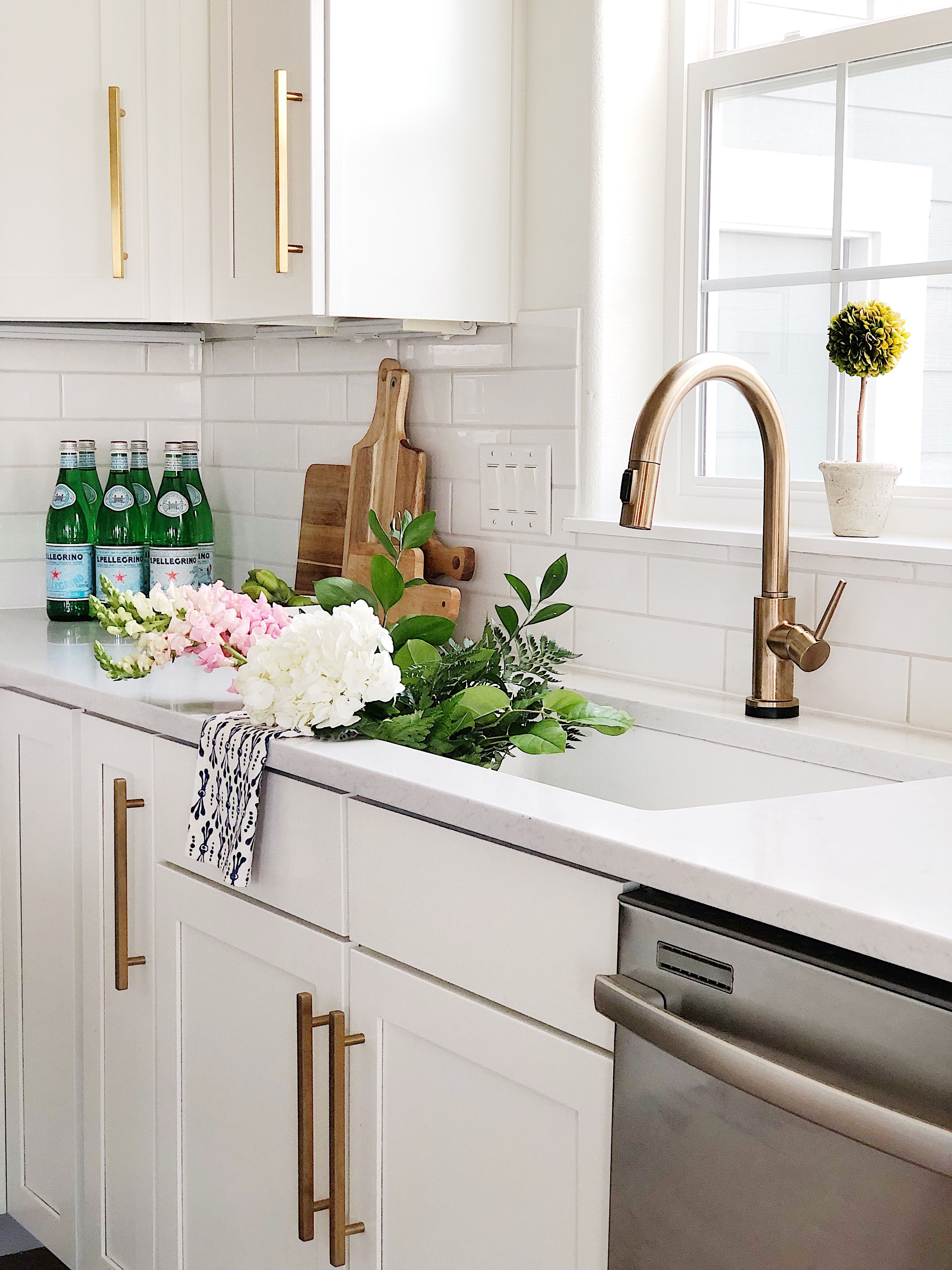 Spring Kitchen Refresh With Serena And Lily Jane At Home Kitchen Refresh Updated Kitchen Kitchen Remodel