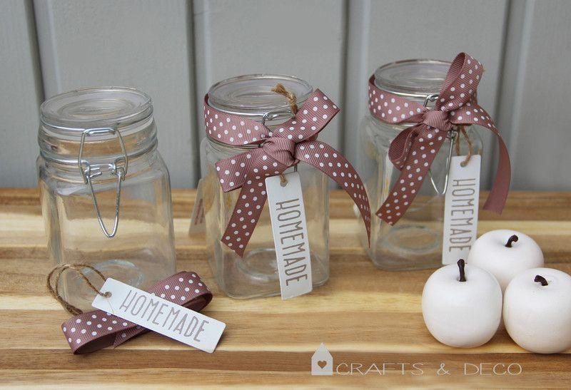 Gläser+Marmeladenglas+Glas+von+Crafts+&+Deco+auf+DaWanda.com