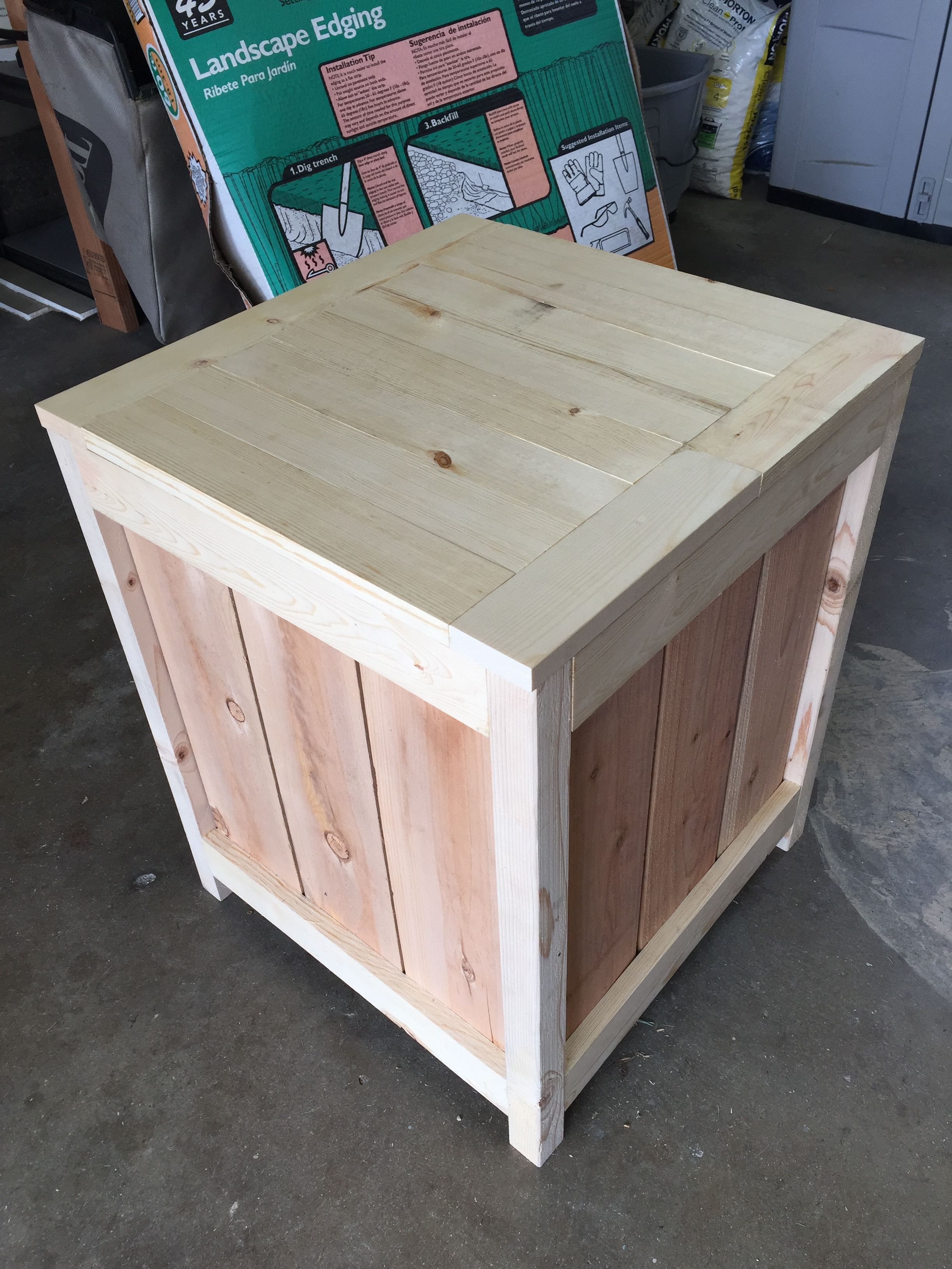 Ana White Outdoor storage box DIY Projects Outdoor