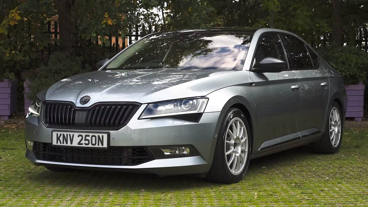 Czech This Out Skoda Superb With 560 Hp Has Double The Stock