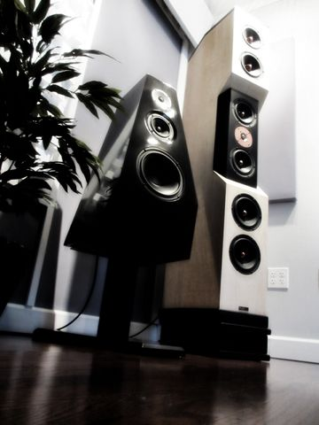 Tyler Acoustic D1 & Sony SS-M7 Speakers