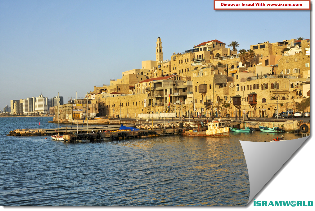 Jaffa - Israel * Jaffa, a Mediterranean port in Israel that is now merged  with Tel Aviv, is one of the world's oldest cities, dating back to about  7500 B.