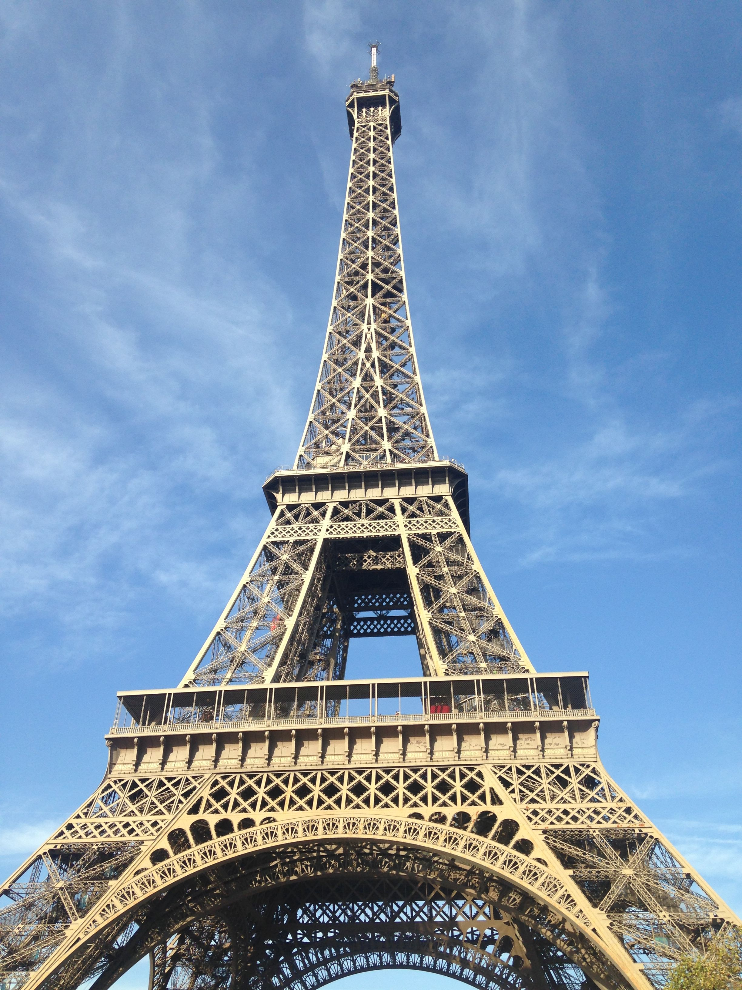 The one and only Eiffel Tower