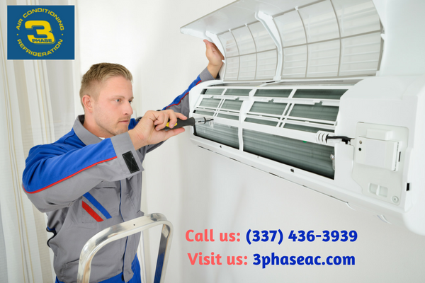 Our professional contractors can install a new air