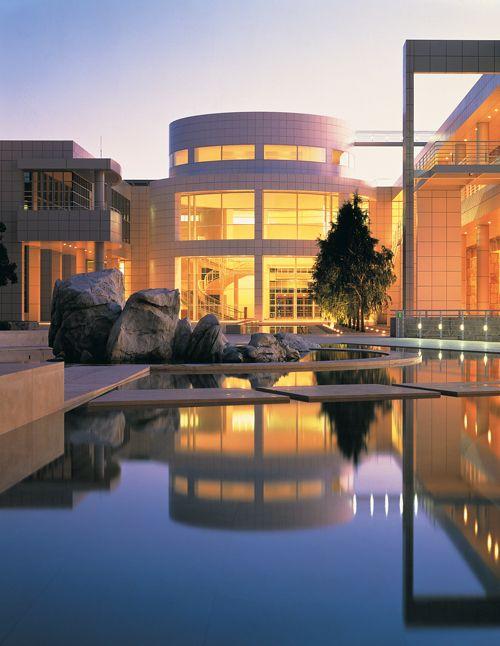 The Getty Center, brilliant art, wine, coffee, gorgeous views!