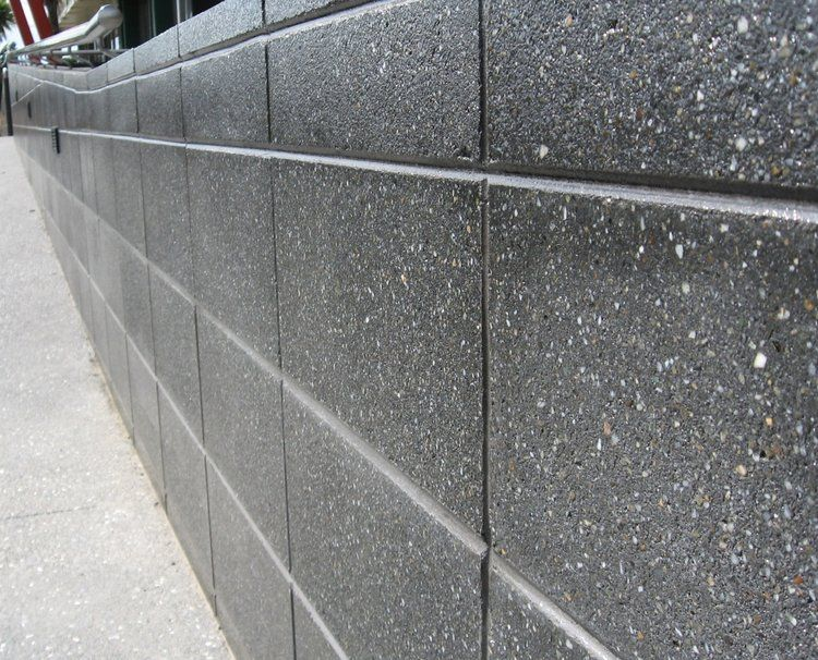 20 Series Honed Kohl Concrete Retaining Walls Retaining Wall Design Concrete Blocks