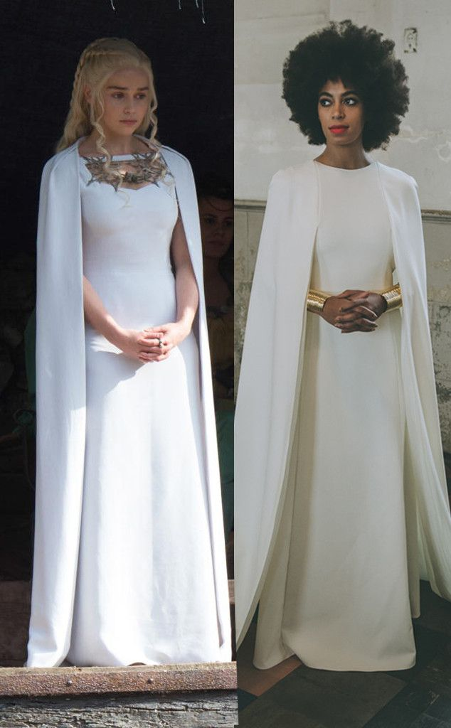 Wedding Dress Designers Games.Did Game Of Thrones Steal Solange Knowles Wedding Dress