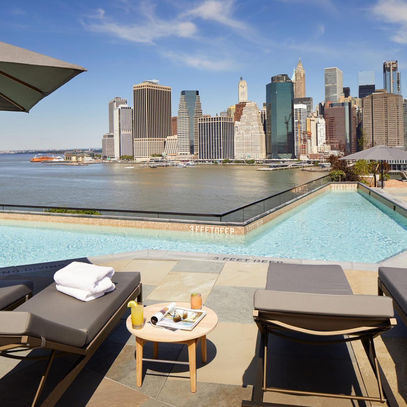 Harriet's Rooftop in Brooklyn Bridge Park Rooftop bars