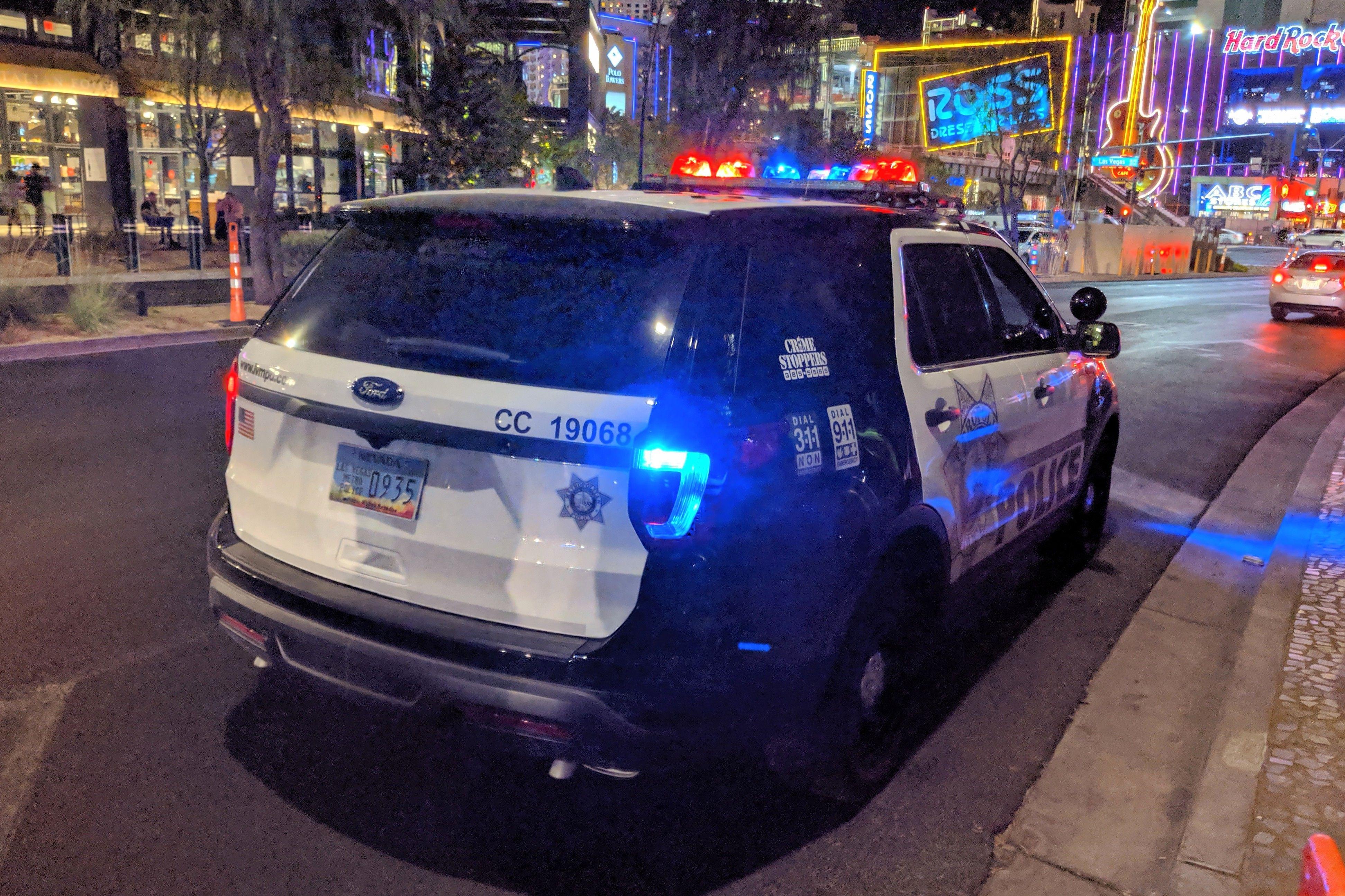 Las Vegas Police Old Police Cars Police Police Cars