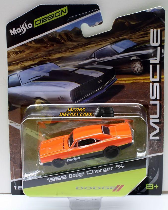 1969 Dodge Challenger For Sale : dodge, challenger, MAISTO, DESIGN, DODGE, CHARGER, Dodge, Challenger,, Charger,, Charger