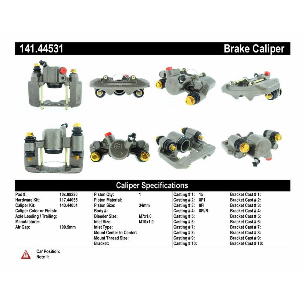 Centric 141.44531 Brake Caliper