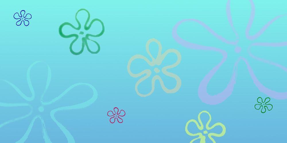 pics for spongebob flower