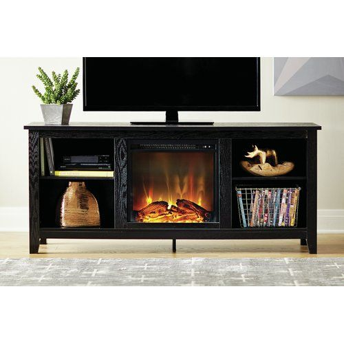 """Found it at Wayfair Sunbury 58"""" TV Stand with Electric Fireplace"""