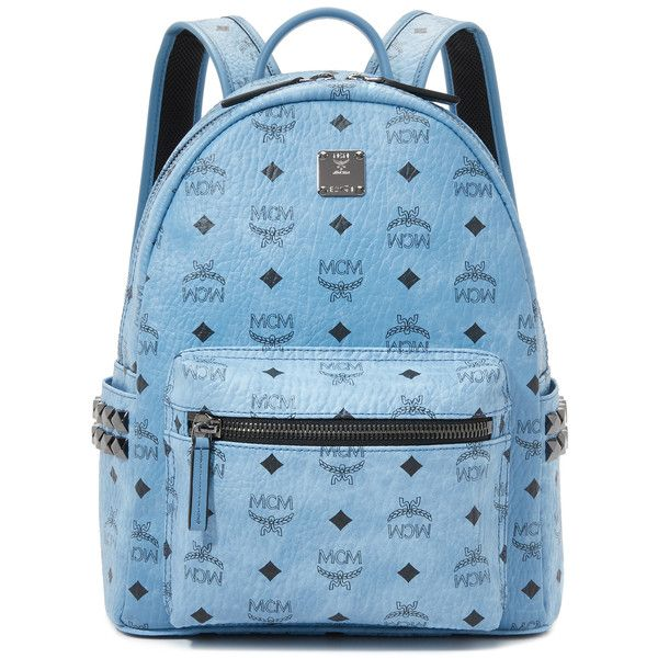 MCM Small Side Stud Backpack ( 725) ❤ liked on Polyvore featuring bags 5970b432692