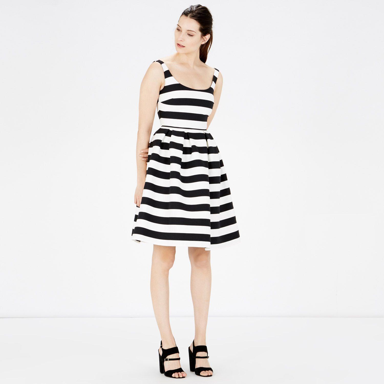 Warehouse, STRIPE PROM DRESS Black Stripe 2 | Summertime ...