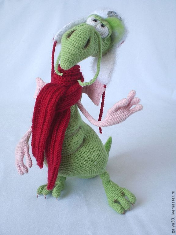 "Мастер-класс ""Дракон Чудик"" (описание вязания) | Игрушки ..."