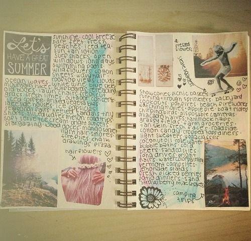 to do: make a journal on a cheap art book