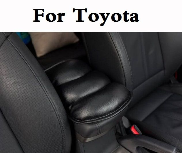 Car Accessories Center Armrests Cover Protective Pad mats For Toyota
