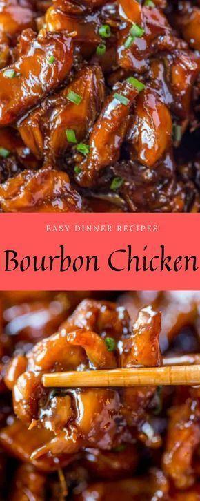 Easy Dinner Recipes | Bourbon Chicken| Dinner ideas,Easy dinner recipes, Food re... #chickenbreastrecipeseasy Easy Dinner Recipes | Bourbon Chicken| Dinner ideas,Easy dinner recipes, Food re...  #Bourbon #chicken #ChickenBreastrecipes #dinner #easy #Food #ideasEasy #Recipes #chickenbreastrecipeseasy