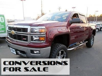 Lifted 2014 Chevy Silverado 1500 Lt Z92 Alc Crew Cab Lifted