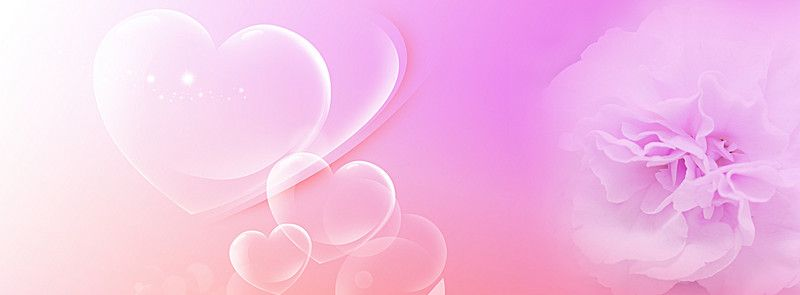 Wedding Hearts Pink Flowers Background In 2019 Wedding