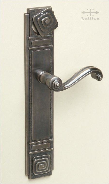 Elegant Brass Entry Door Hardware