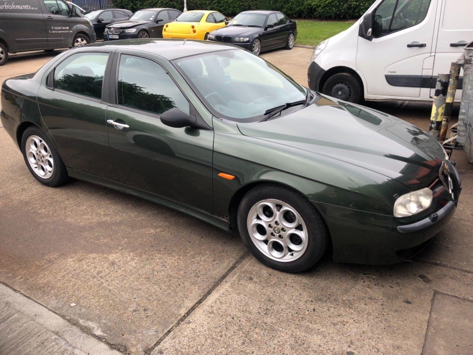 eBay 1999 Alfa Romeo 156 2 5 V6 24v Sportpack 6 speed FSH Spares or