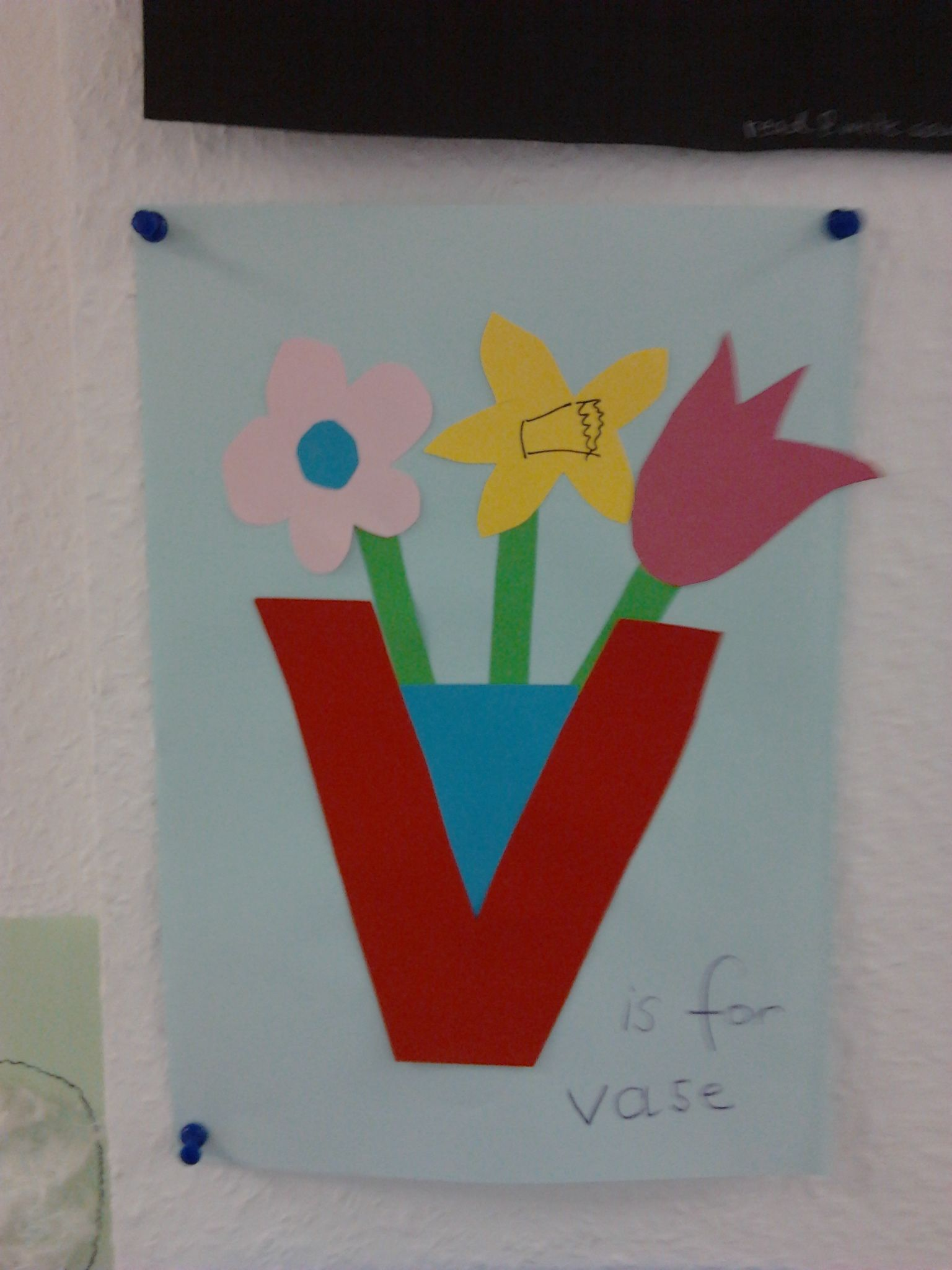 V is for vase. Letter craft. | Helen Doron Teacher ...