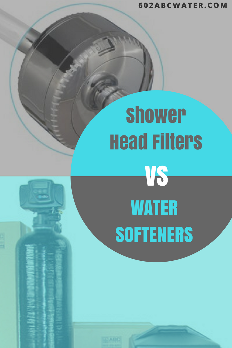 Shower Head Filters VS Water Softeners Shower head filter Filter