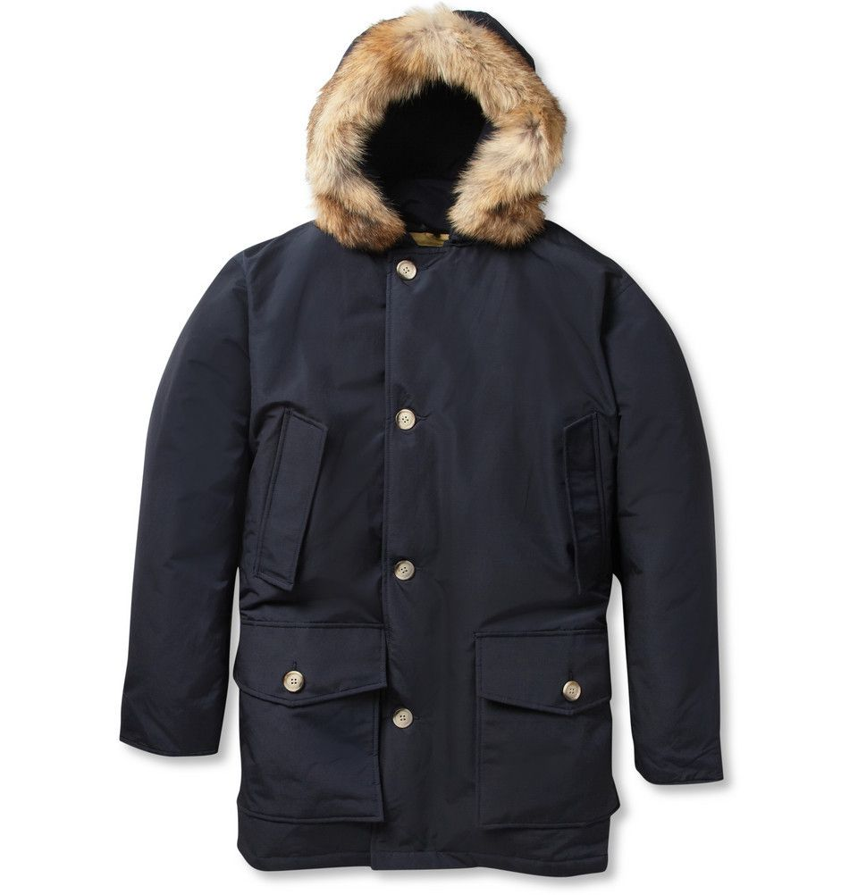 Arctic Parka Coyote-Trimmed Down-Filled Coat by Woolrich - Found on HeartThis.com @HeartThis | See item http://www.heartthis.com/product/211341487641709594/