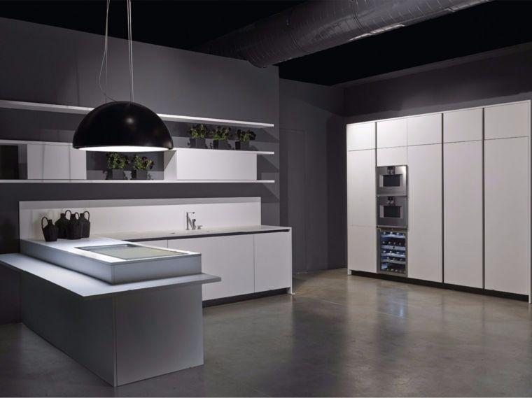 Cocinas integrales de madera, unos interiores impresionantes - Cocinas Integrales Blancas