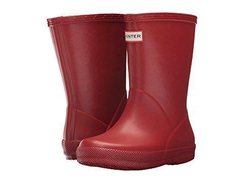 Hunter Kids Original Kids First Classic Rain Boot Toddler Little Kid Kids Rain Boots Rain Boots Fashion Boots