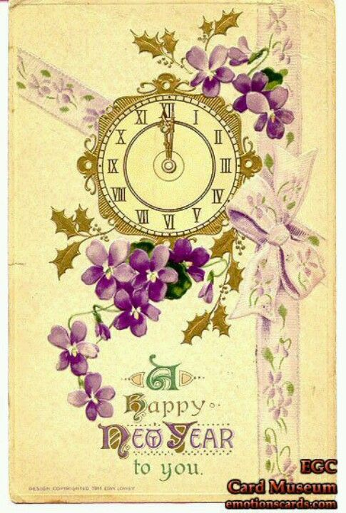 Purple New Year