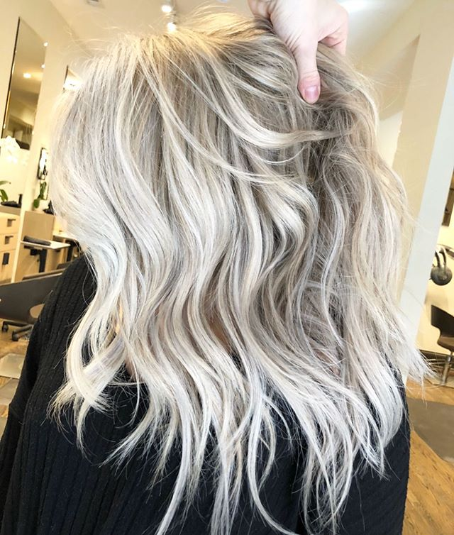 "Chicago Hair Colorist/Stylist on Instagram: ""Lived in Platnium"