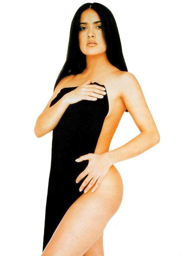 Hayek allure nude salma