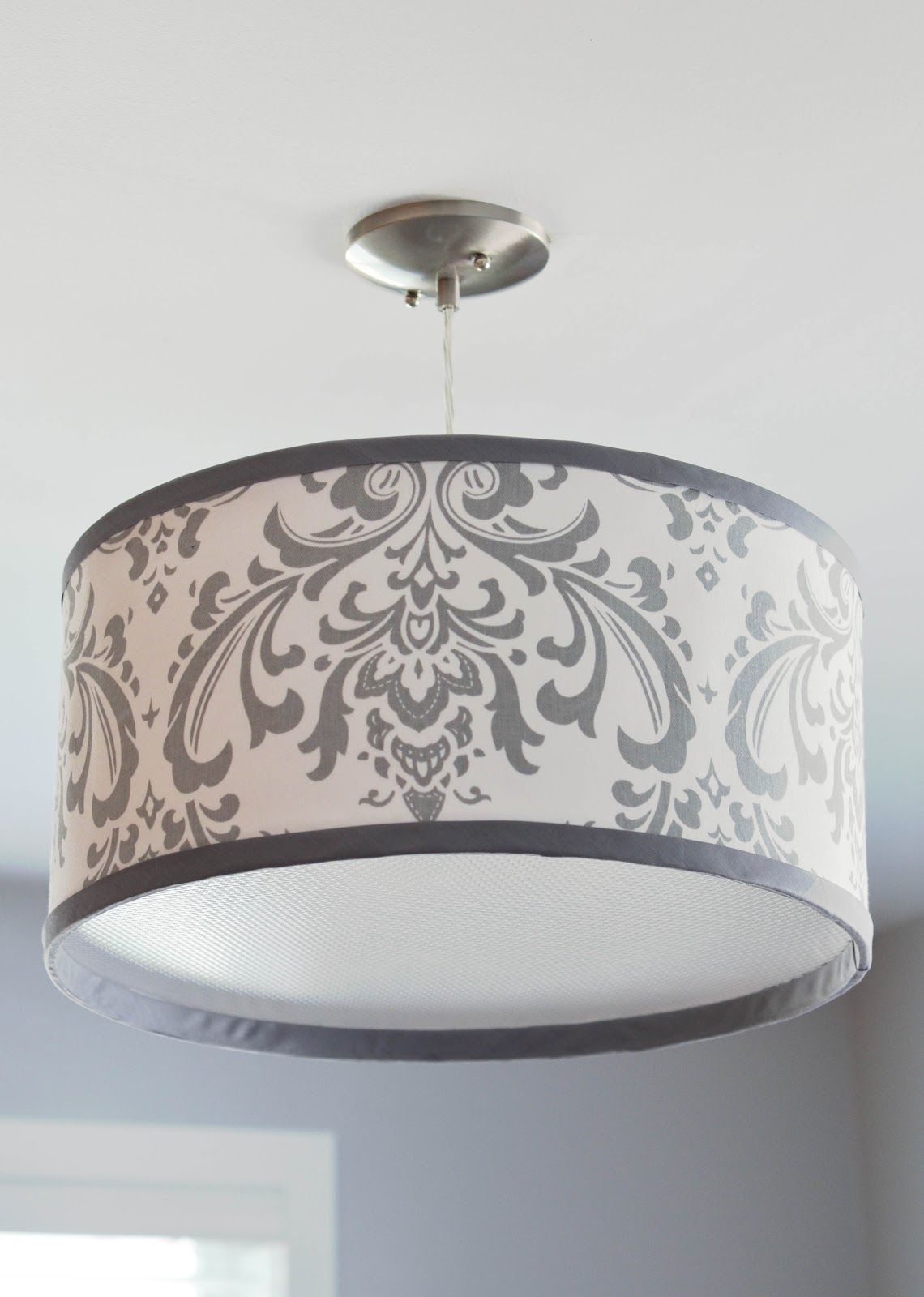 The project files diy drum shade this is so gorgeous and i am totally finding the time to do - Diy lamp shade ...