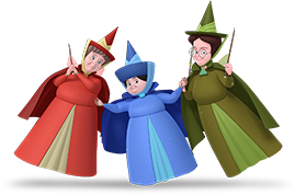 Encantia Para Decorar Aurora Sleeping Beauty Merryweather Mask Party