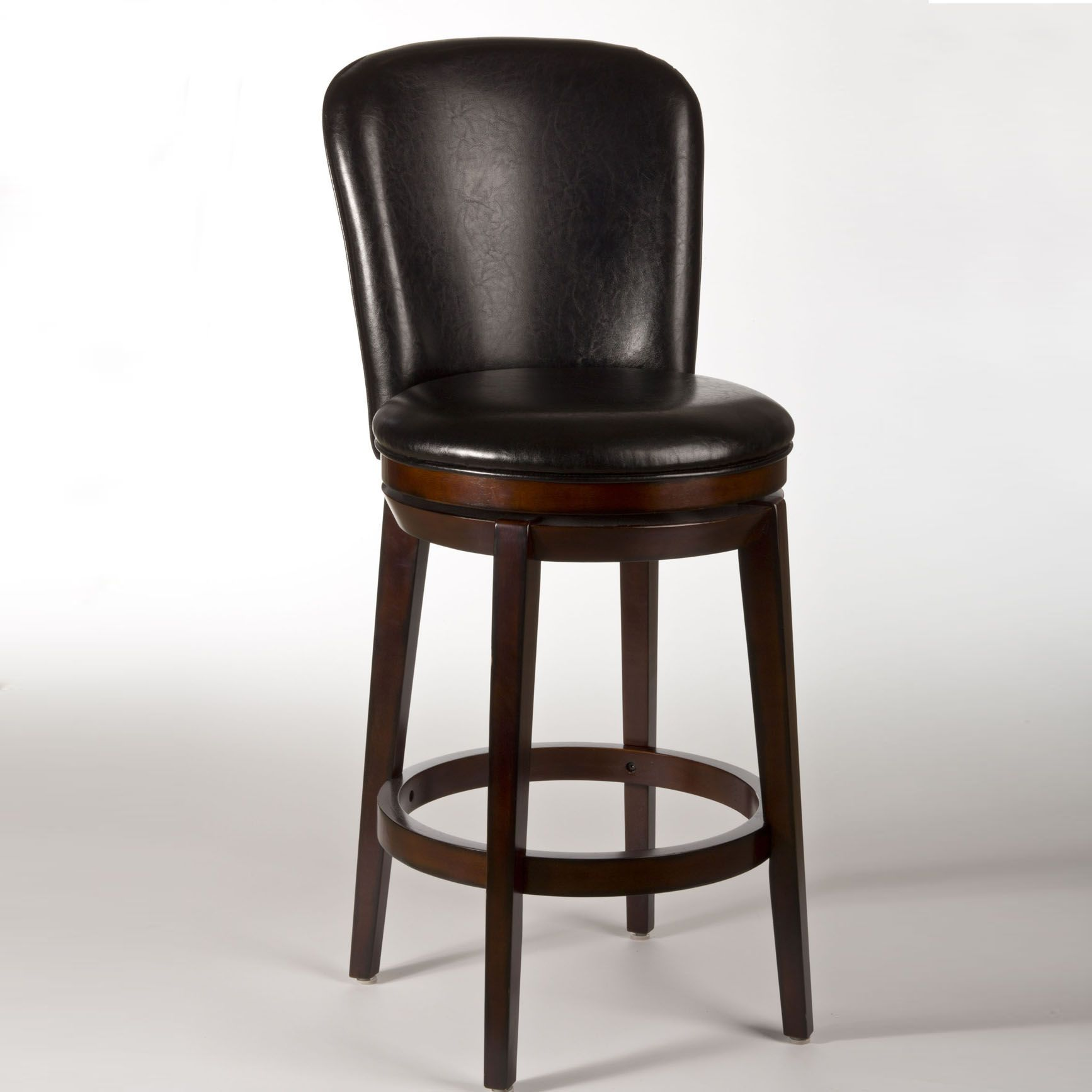 Unique Dark Brown Counter Stools
