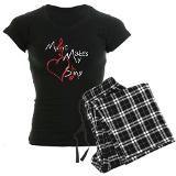 Singing Heart Pajamas for $44.50-cafepress.com