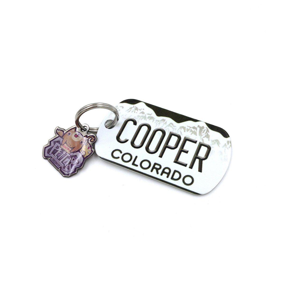 Happypettag Colorado Pet Tag