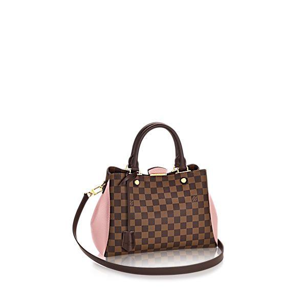 LOUIS VUITTON Brittany.  louisvuitton  bags  shoulder bags  leather  canvas   lining  metallic   d49cb04c68df4