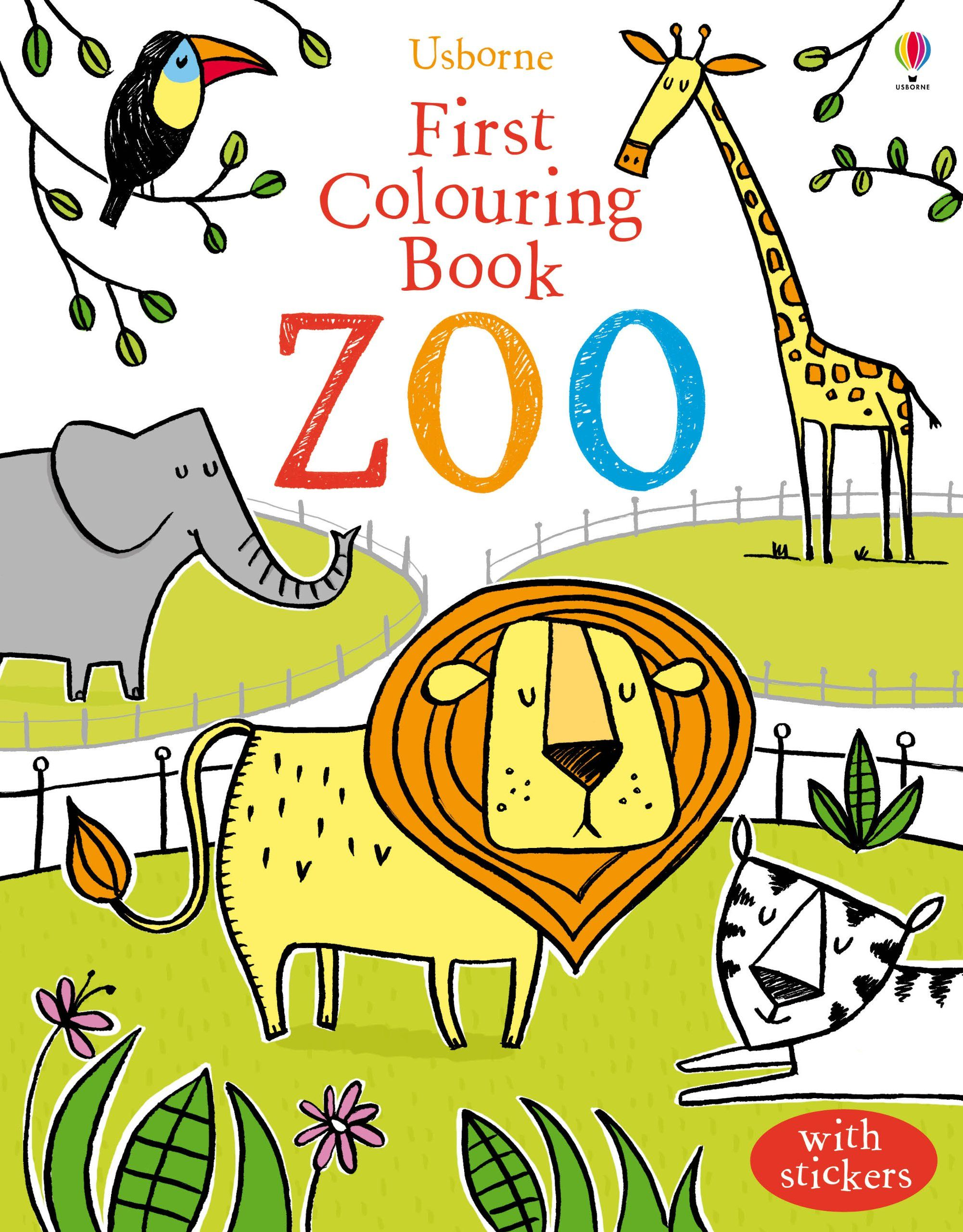 First Colouring Book Zoo Usborne First Colouring Books Amazon Co Uk Jessica Greenwell Candice Whatmore Coloring Books Usborne Books Art Drawings For Kids