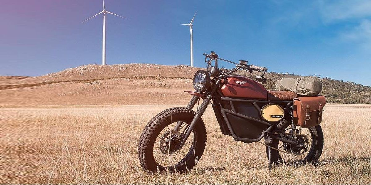 New Us Electric Motorcycle Company Unveils New Design With Classic